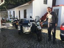 Gusto Motorbikes _ Ural Rangers at home
