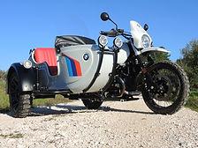 Gusto Motorbikes BMW RnineT Paris Dakar Adventure bespoke sidecar build 2018