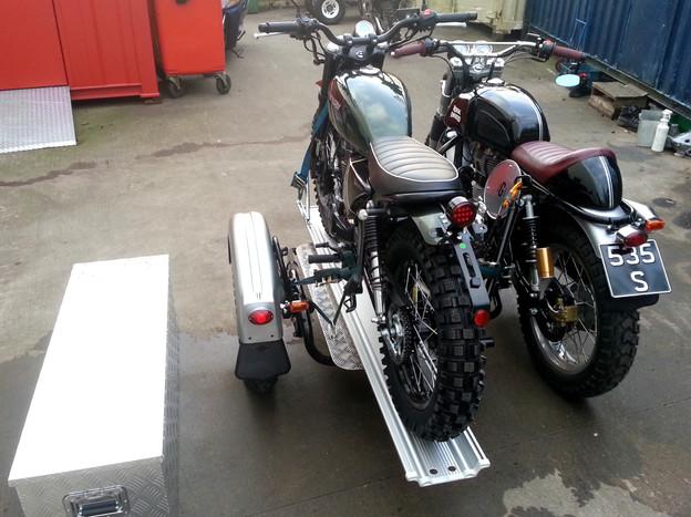 Gusto Motorbikes_Royal Enfield 535S Multi-functional Platform Sidecar Combination