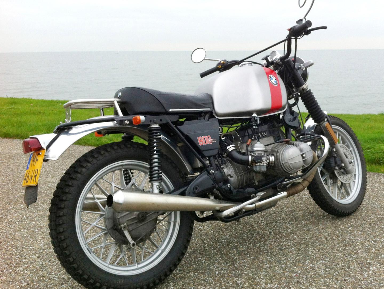 Gusto Motorbikes_BMW R80/7 1984 Scrambler