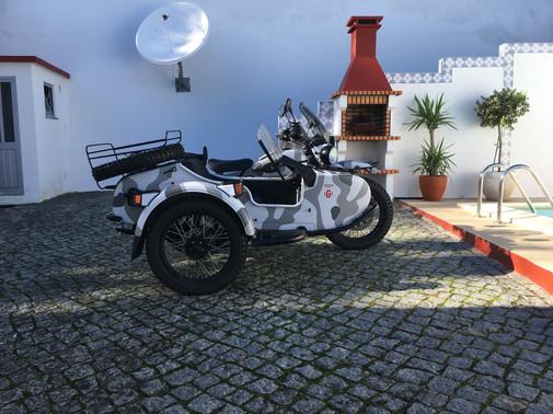 Gusto Motorbikes _ Ural Ranger at home