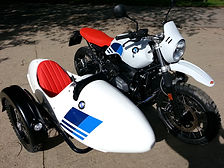 Gusto Motorbikes_BMW RnineT Urban G/S_bespoke sidecar build_2018_Right hand fitting