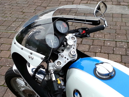 Gusto Motorbikes _ BMW R100S 1978 café racer bespoke build