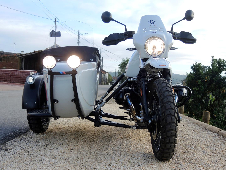 Gusto Motorbikes_BMW Paris Dakar Adventure Sidecar Combination