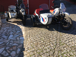 Gusto Motorbikes _ BMW and Ural Ranger