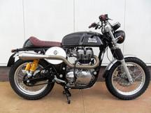 Gusto Motorbikes _ Royal Enfield 535GT Scrambler bespoke build