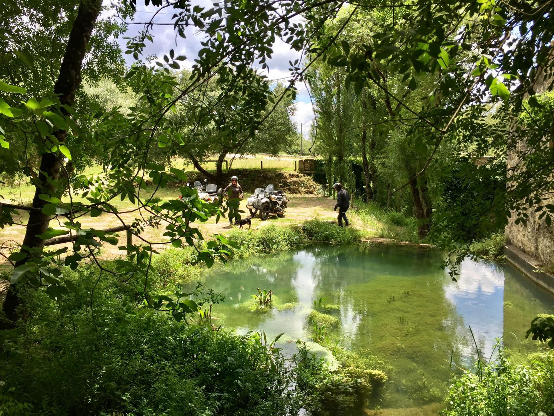 Abiul Watermill pond