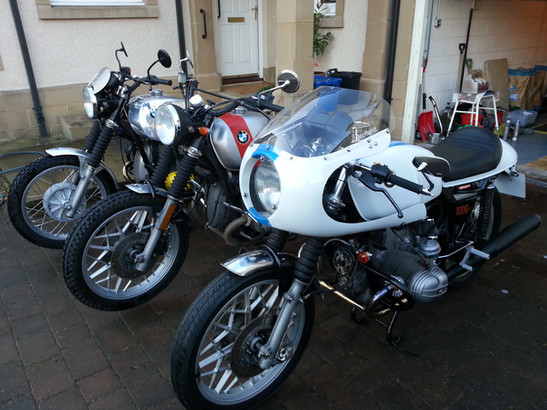Gusto Motorbikes _ A range of BMW bespoke builds