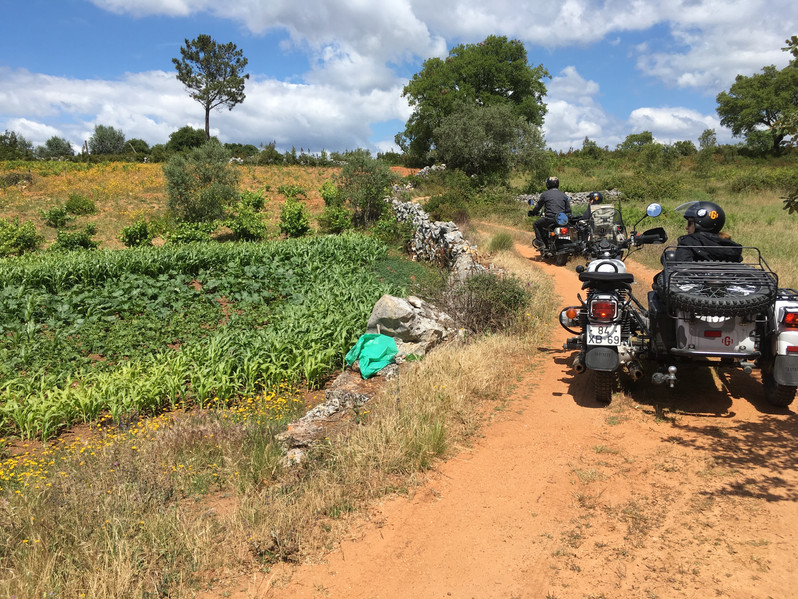 Exploring the lesser-seen tracks in the Sicó hills.