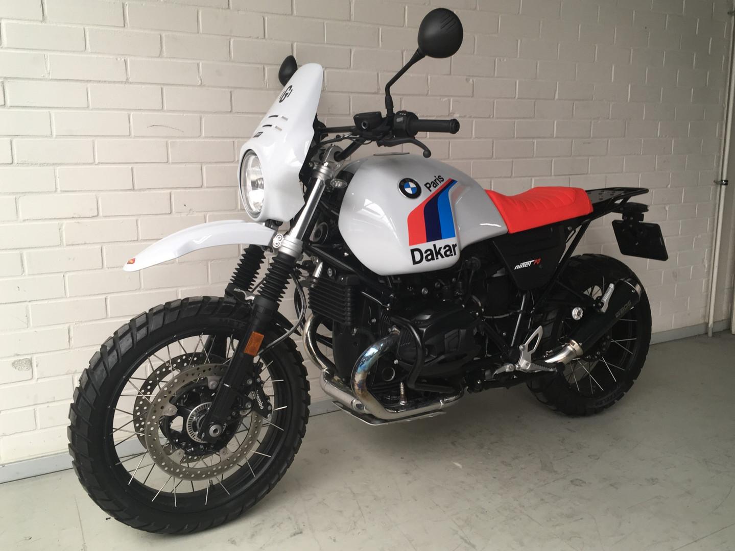Gusto Motorbikes_BMW RnineT Urban G/S Paris Dakar