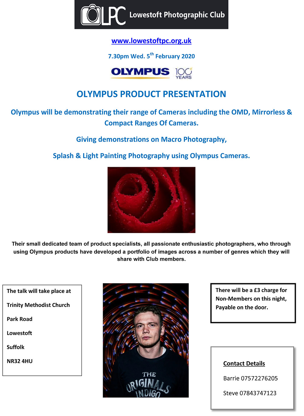 Olympus Product Demonstration