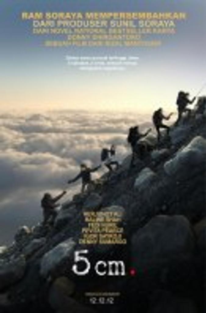 poster 5 cm movie