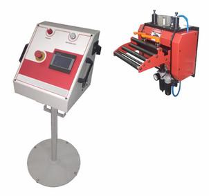 Alimentador eletrônico com painél de comando