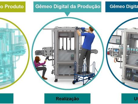 Gêmeos Digitais como propulsores da quarta revolução industrial