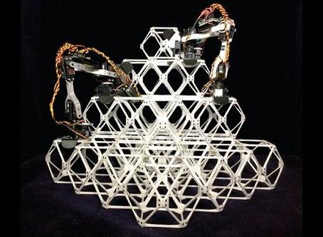 Robôs montadores fazem grandes estruturas usando pequenas peças
