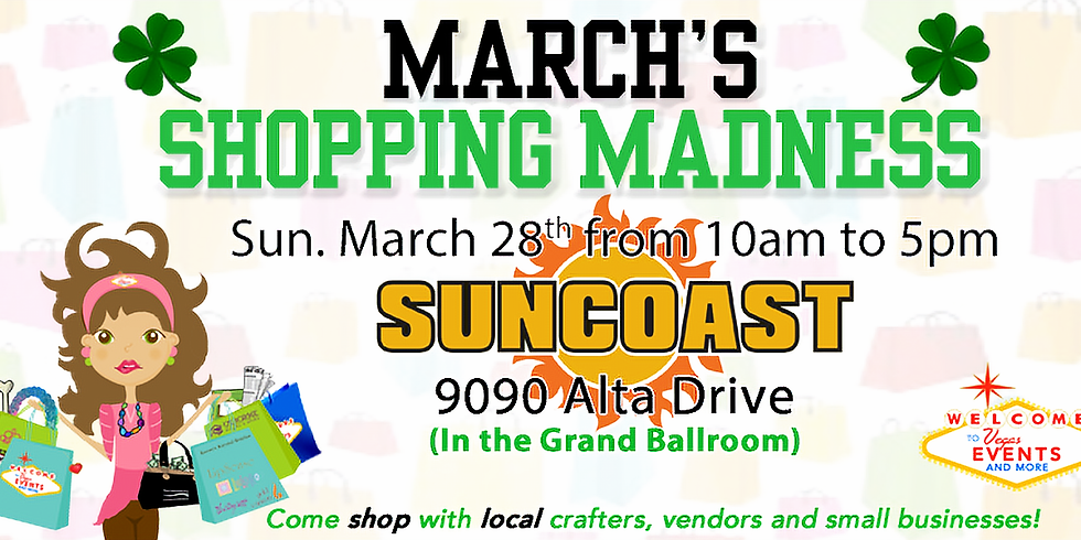 March's Shopping Madness