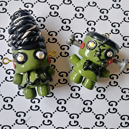 💎 Monster Couple Charm Set