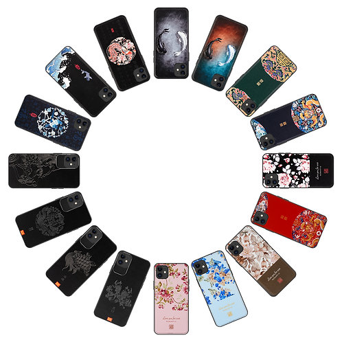 iPhone 11 PU Leather with Themed Design