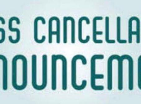 Tuesday 7pm Hatha yoga class Cancelled