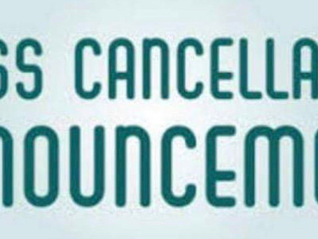 Tuesday 7pm Hatha yoga class Cancelled