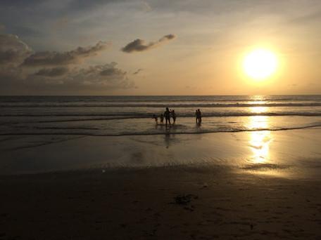 canggu sunset