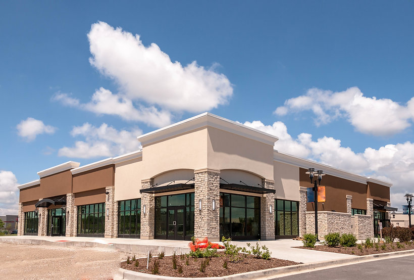New Commercial, Retail and Office buildi
