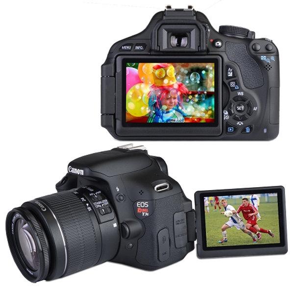 Canon EOS Rebel T3I 18 0MP Camera w/3 0