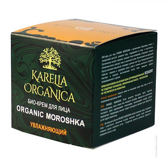 Био-крем для лица «Organic Moroshka» увлажняющий.