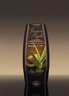 Бальзам-кондиционер «Авокадо&Алое» для нормальных волос.
