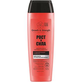 Стимулирующий шампунь для роста и укрепления волос.