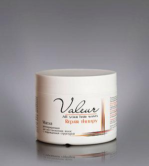 Маска регенерирующая для восстановления волос с поврежденной структурой.