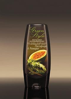 Бальзам-кондиционер «Пассифлора&Розмарин» для тонких и ослабленных волос.