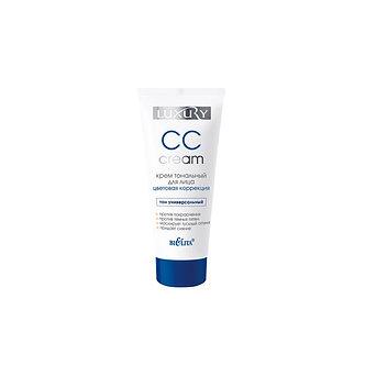 CC cream Крем тональный для лица Цветовая коррекция.