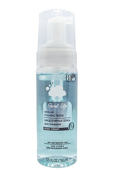 Мицеллярная пенка для умывания BioWorld для сухой и чувствительной кожи.