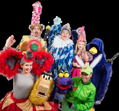 The AnimAlphabet The Musical Cast