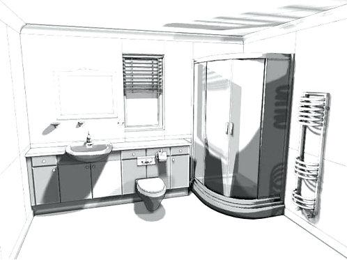 Bathroom designing service