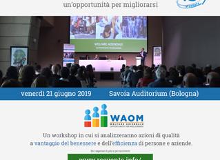 WAOM 2019: giornata di formazione e di testimonianze sul Welfare aziendale