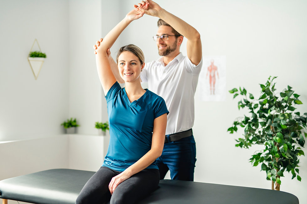 A Modern rehabilitation physiotherapy ma