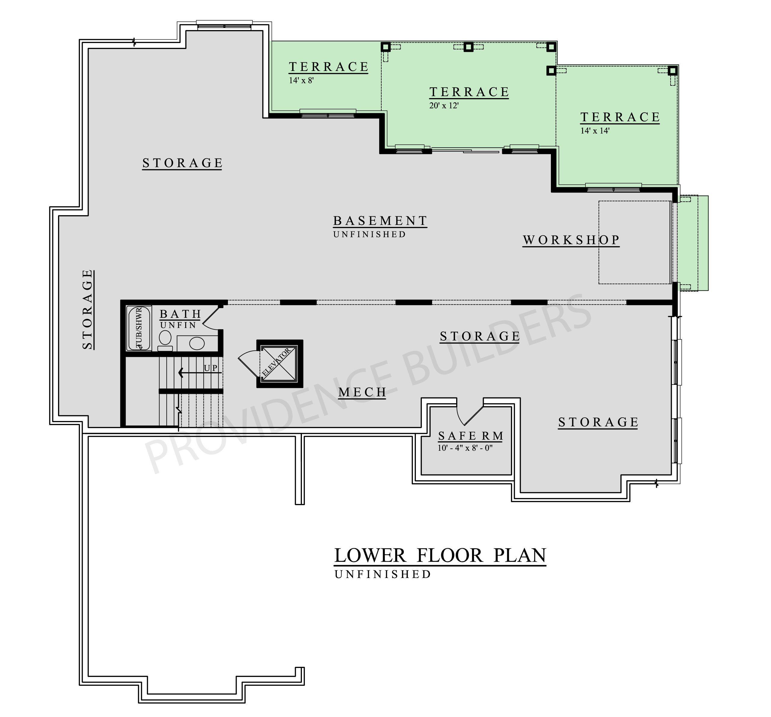 Valette Lower Plan