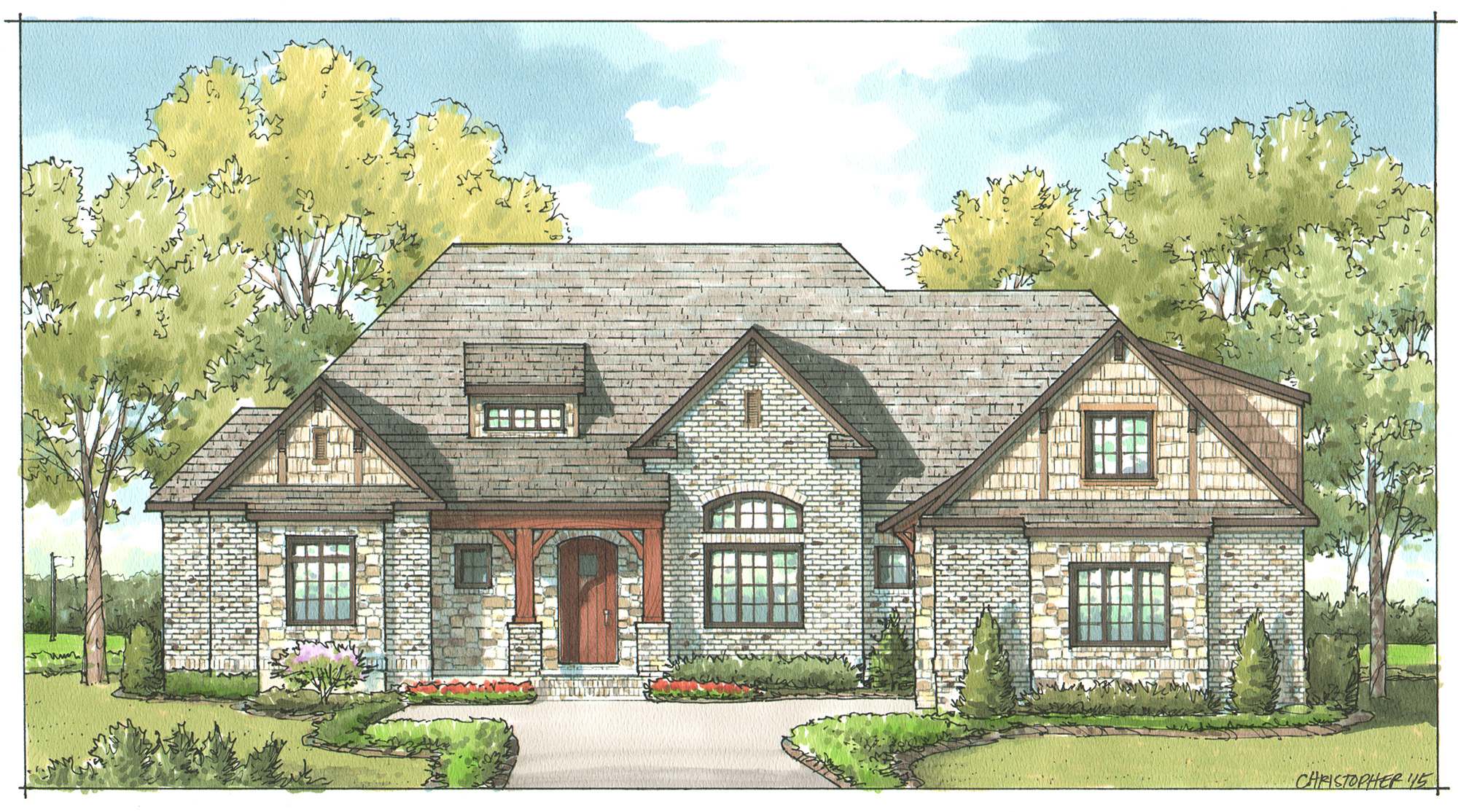 Woodhall Rendering