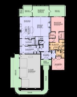 Lyon Main Floor Plan