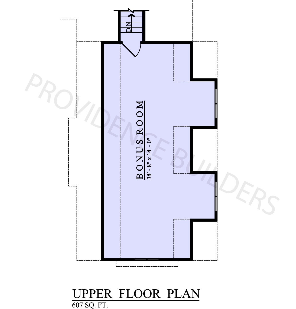 Woodhall II Upper Plan