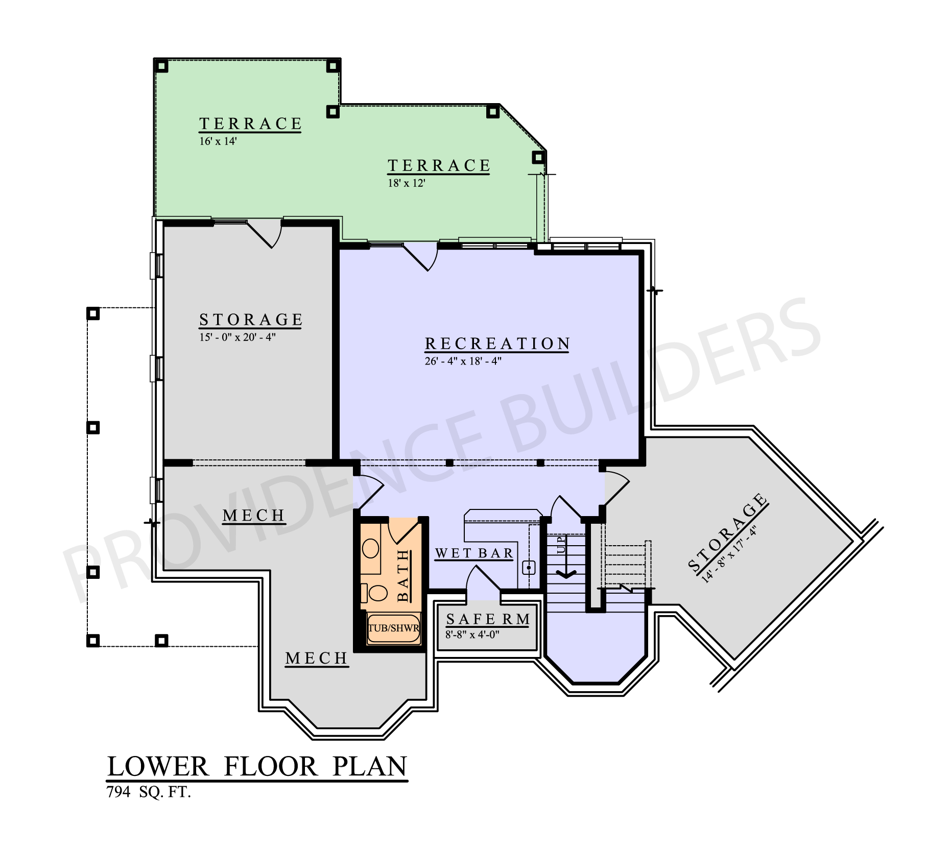 Lacour Lower Plan