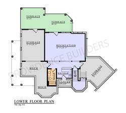 Lacour Lower Plan