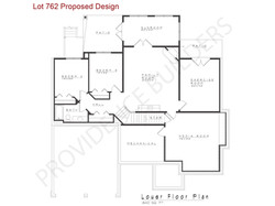 Lot 762 Lower Floor Plan