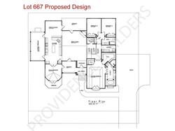 Lot 667 Floor Plan