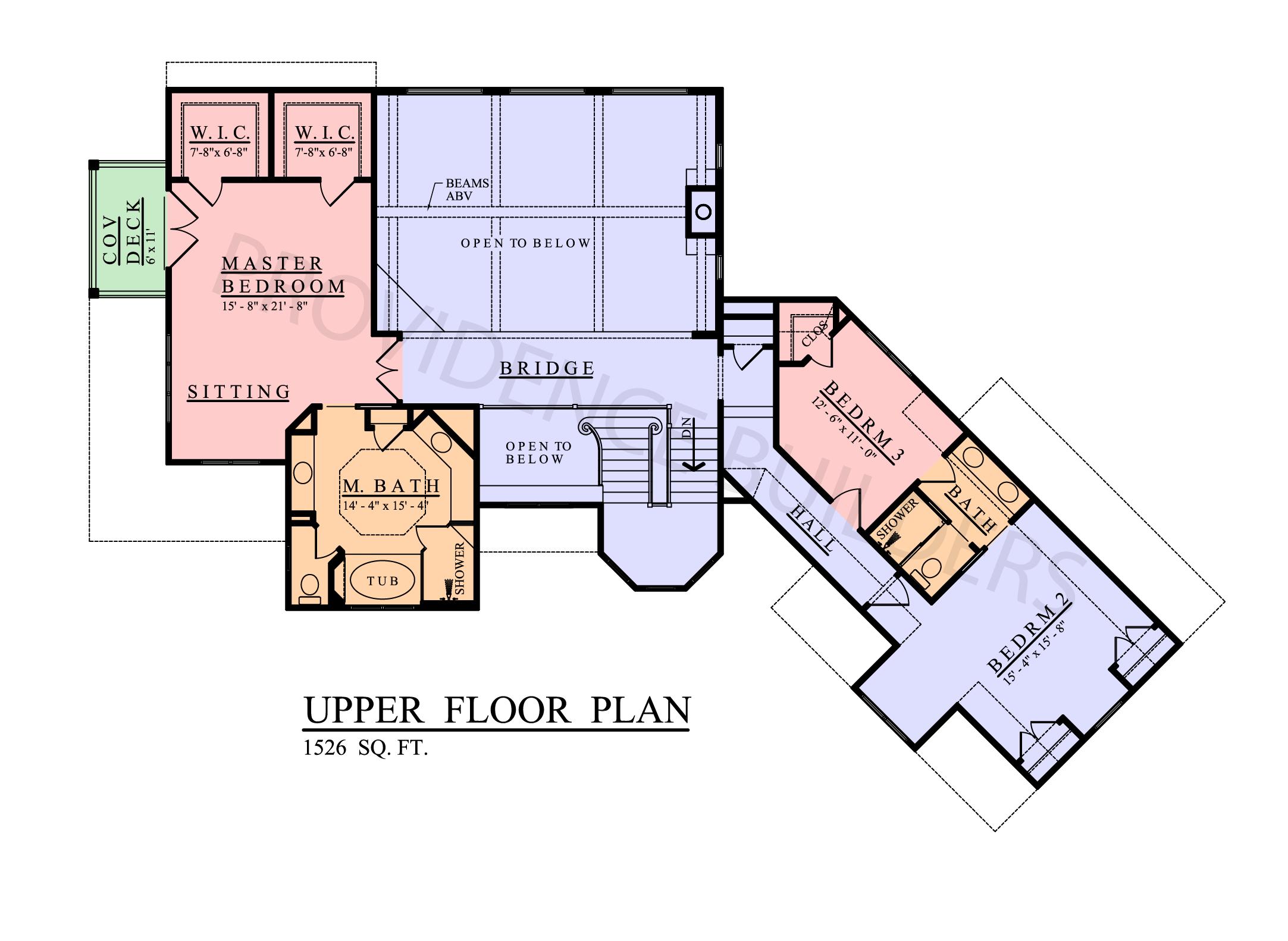 Lacour Upper Plan