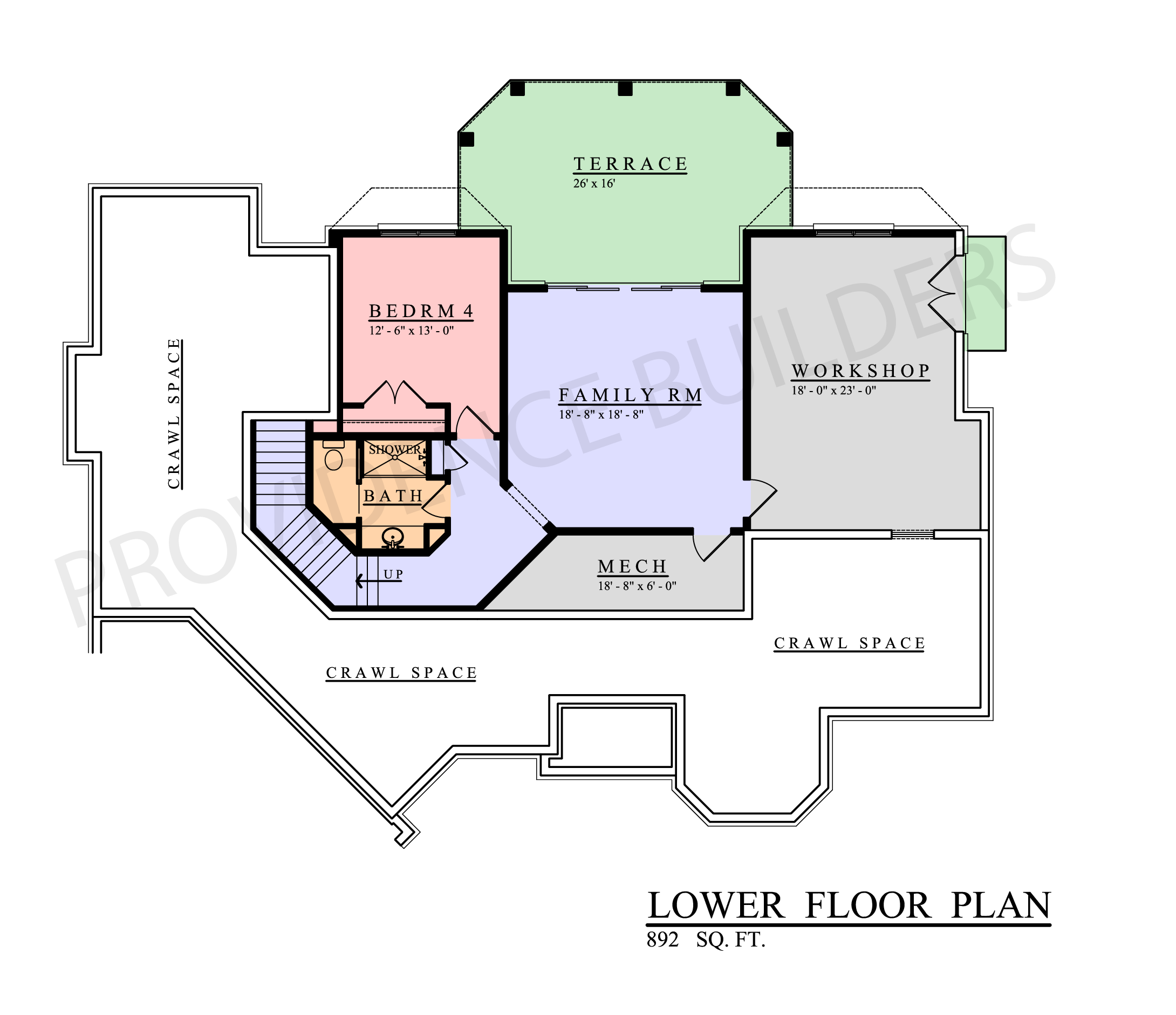 Provence Lower Plan