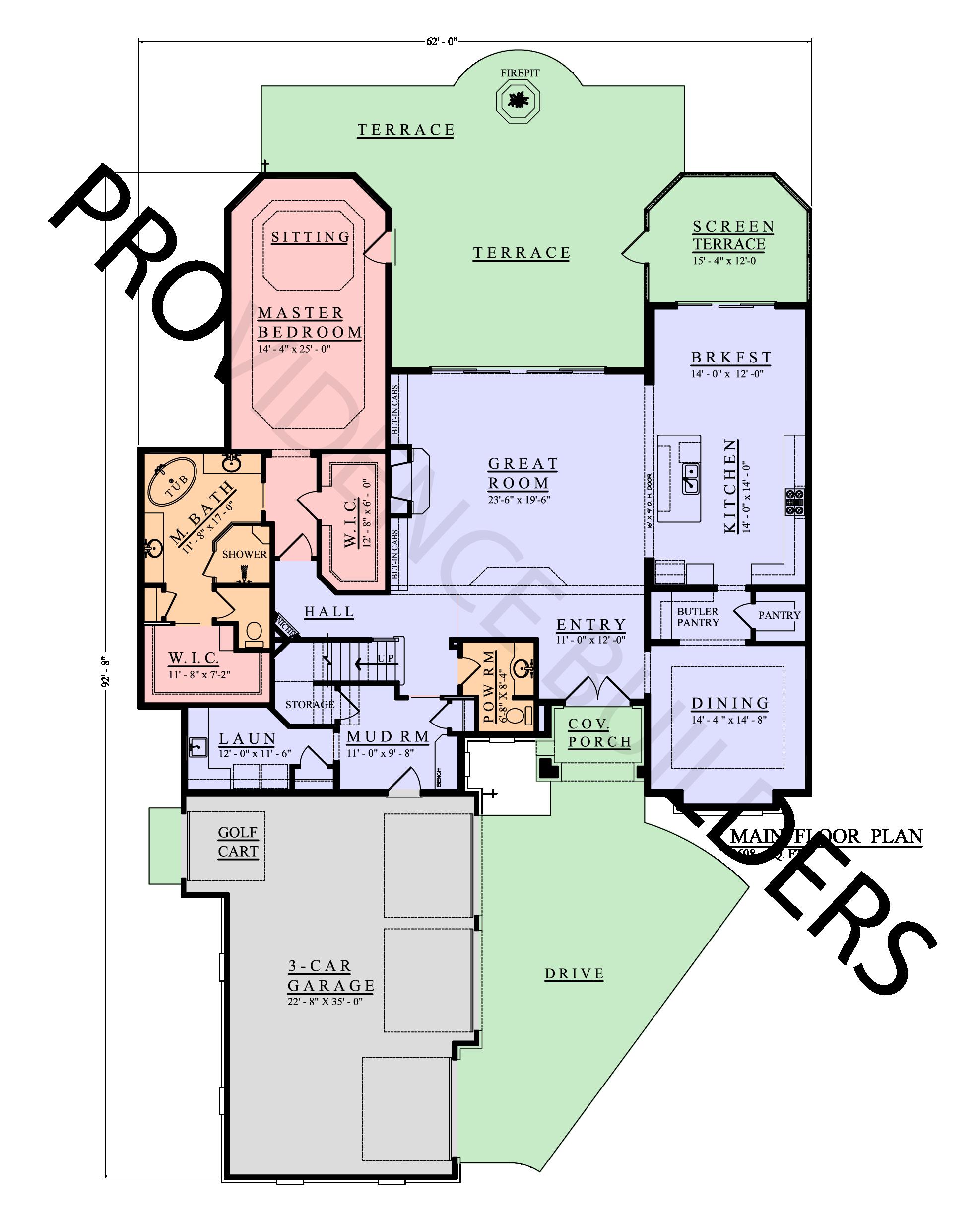 Wentworth Main Plan