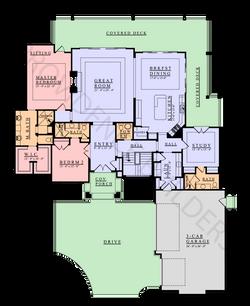 Saint-Pierre Main Plan